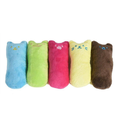 Image of Cute Pillow Scratch Crazy Cat Kicker Catnip Toy Teeth Grinding Toys