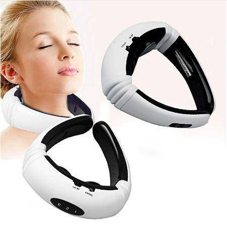 Image of Electric  Back And Neck +leg/stomach Massager  Infrared Heating Pain Relief Tool Health Care Relaxation
