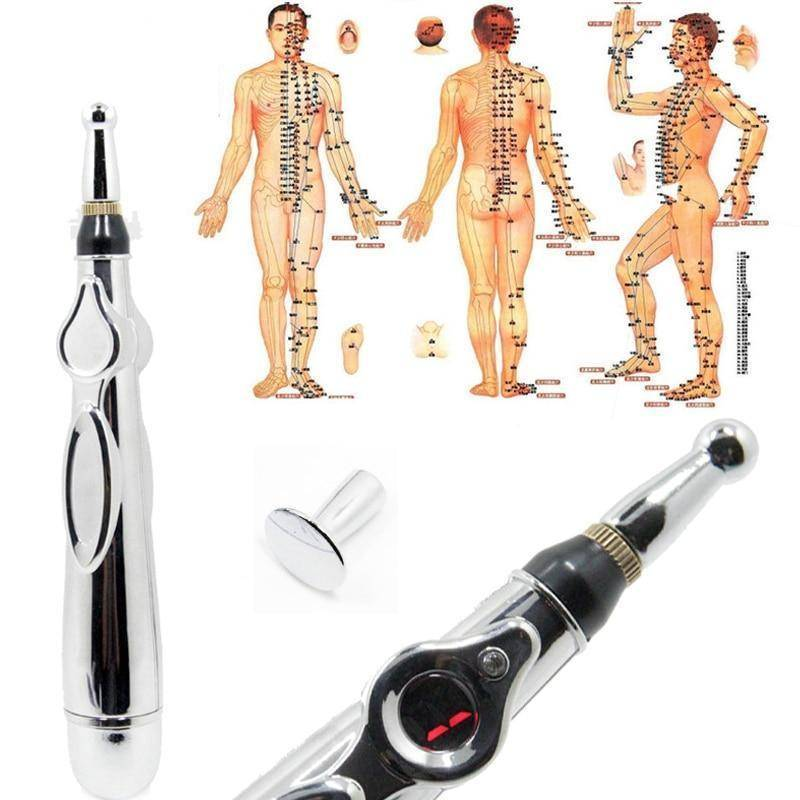 Electronic Acupuncture Pen Electric Meridians Laser FOR CHRONIC PAIN