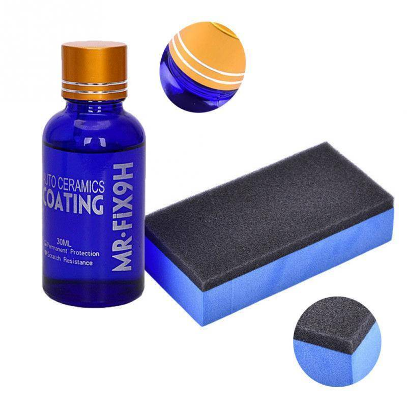 High Quality Anti-scratch Car Polish Car Liquid Ceramic Coat Auto Detailing Glasscoat Super Hydrophobic Glass Coating