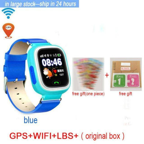 Image of Kids Smart Watch Boys Girls Gps Tracker Anti Lost With Voice Chatting