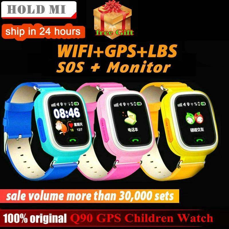Kids Smart Watch Boys Girls Gps Tracker Anti Lost With Voice Chatting