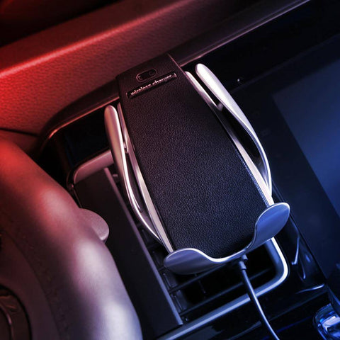Image of [ NEW 2019 VERSION]Automatic Clamping Wireless Car Charger