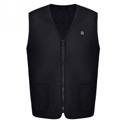 Image of Outdoor USB Infrared Heating Vest Jacket  Unisex