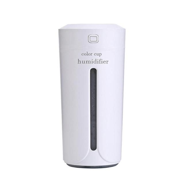 Portable 230ml Ultrasonic LED Night Light Cup Aroma USB Charging Humidifier Air Essential Oil Aroma Diffuser Purifier Atomizer