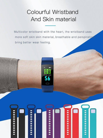 Image of Portable Blood Pressure Monitor - Digital Wrist Blood Pressure Monitor