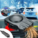 Premium Portable 2 In 1  Car Defroster And Heater 12V 12.5A 150W Protable Auto   Heating Cooling Fan Windscreen Window Demister Defroster Driving