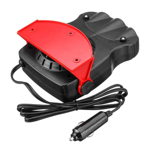 Image of Premium Portable 2 In 1  Car Defroster And Heater 12V 12.5A 150W Protable Auto   Heating Cooling Fan Windscreen Window Demister Defroster Driving