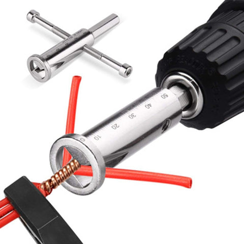Image of Wire Stripping And Twisting Tool (ELECTRIC AND MANUAL VERSION)