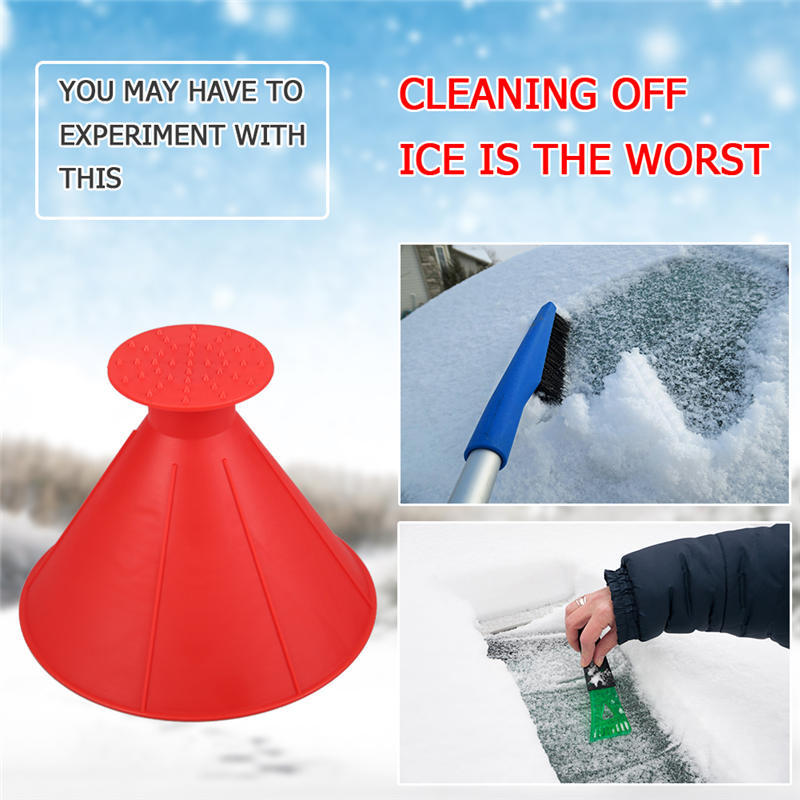 1pcs MAGICAL CAR ICE SCRAPER.