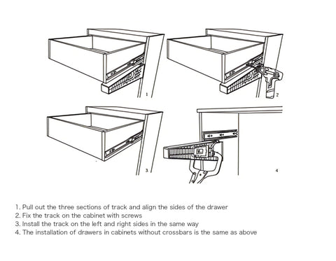2pcs DRAWER Installation Jig™