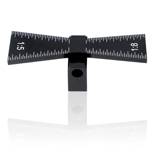Aluminum Wood Joint Gauge™ With Scale