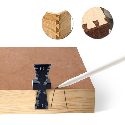 Image of Aluminum Wood Joint Gauge™ With Scale