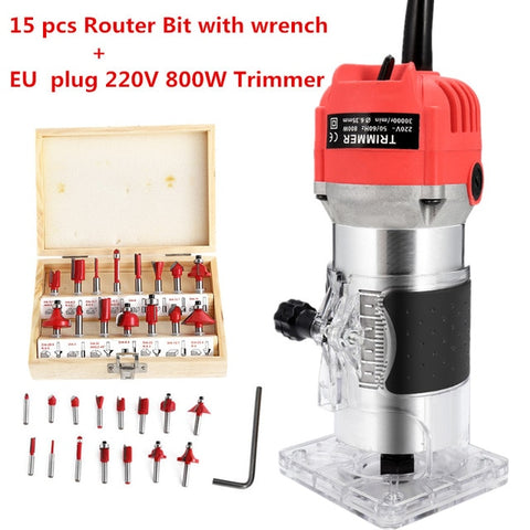 Image of Woodworking Electric Trimming Machine