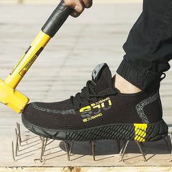 S-rank - New Breathable  Indestructible Safety Shoes