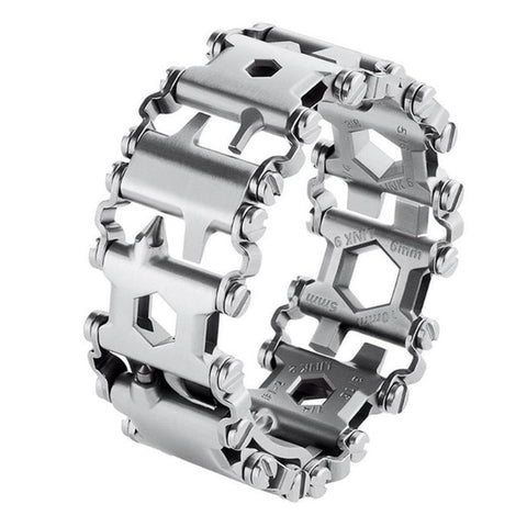 Image of 29in1™ -29 In 1 Multi-Tool Wearable Stainless Steel Bracelet