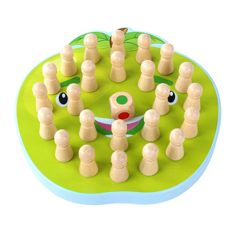 Image of Wooden Memory Match Stick Chess