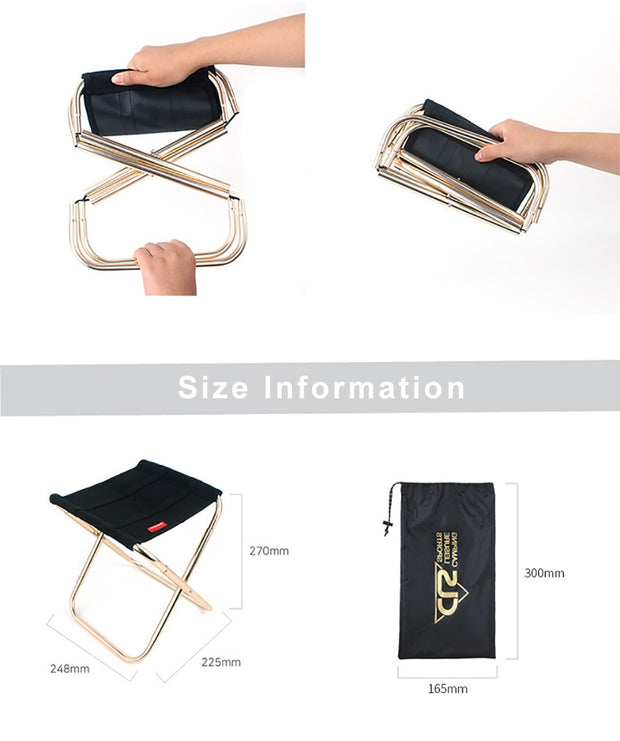 Ultra-Light Foldable Chair