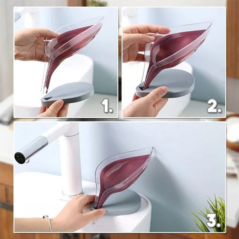 SALE- 50% OFF) Leafology Decorative Drainage Soap Holder