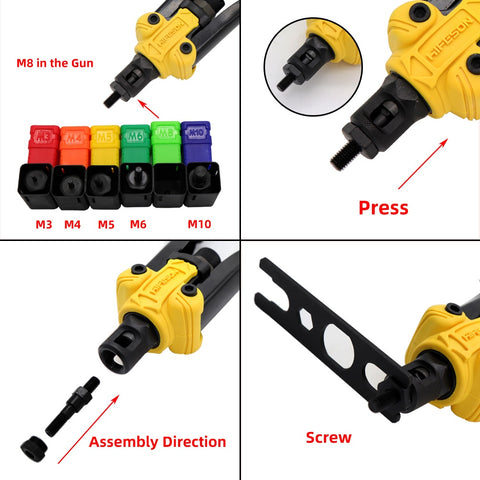 Image of 【50% OFF TODAY】Premium Automatic Rivet Tool Set
