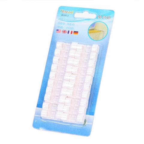 Image of 20pcs/lot Finisher Wire Clamp, Transparent(Factory Outlet 50% OFF!)