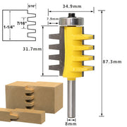 "Best Selling  Router Bit  -1/2"", 1/4"" ,8mm Shank"