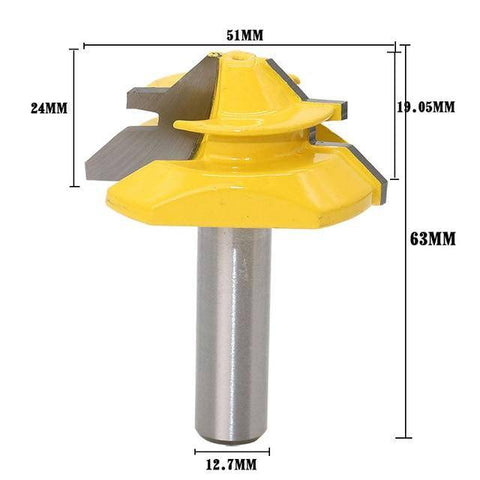 Image of 45° Lock Miter Router Bit