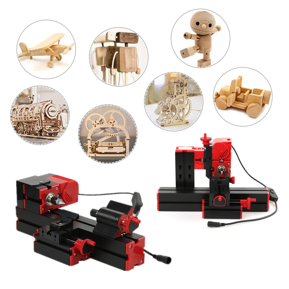 SUPER Multi Machine for Jig-saw Grinder Drilling Milling CNC Wood Lathe Woodworking