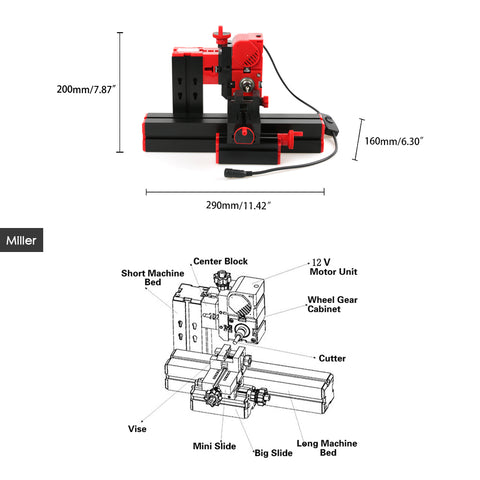 Image of SUPER Multi Machine for Jig-saw Grinder Drilling Milling CNC Wood Lathe Woodworking