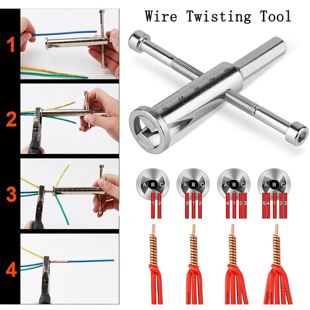 - 50% OFF - DRILL POWERED WIRE STRIPPER/TWISTER
