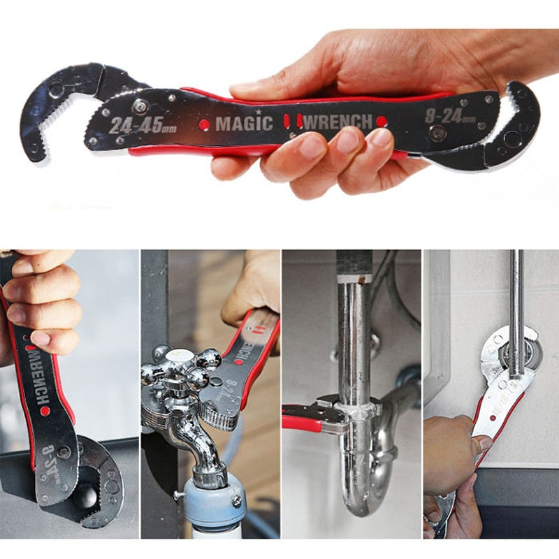 Adjustable Multi-function Magic Wrench