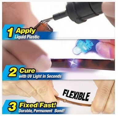 New Super Powered Liquid Plastic Welding