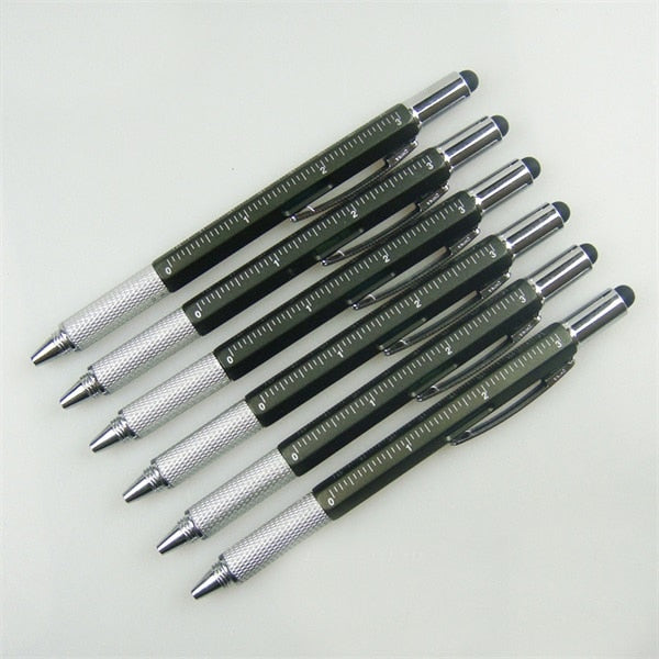 6 IN 1 MULTIFUNCTION GEARBOMBARD™ BALLPOINT PEN - BEST GIFT IDEA
