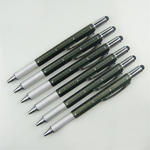 Image of 6 IN 1 MULTIFUNCTION GEARBOMBARD™ BALLPOINT PEN - BEST GIFT IDEA