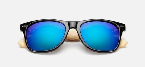Image of Ralferty Retro Wood Sunglasses Men Bamboo Sunglass Women Brand Design Sport Goggles Gold Mirror Sun Glasses Shades Lunette Oculo