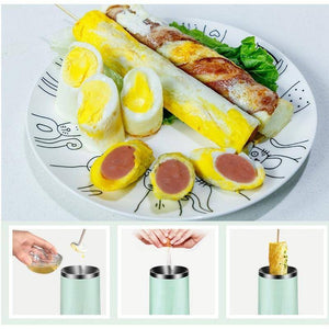 Single Tube Automatic Multifunctional Egg Roll Maker Electric Egg Cooker  Boiler Omelette Master Sausage Machine Breakfast Egg Tool