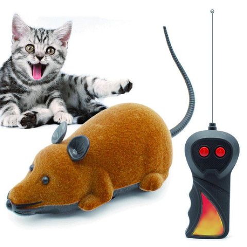 Image of Wireless Mouse Toy  With Remote Control  For Cats