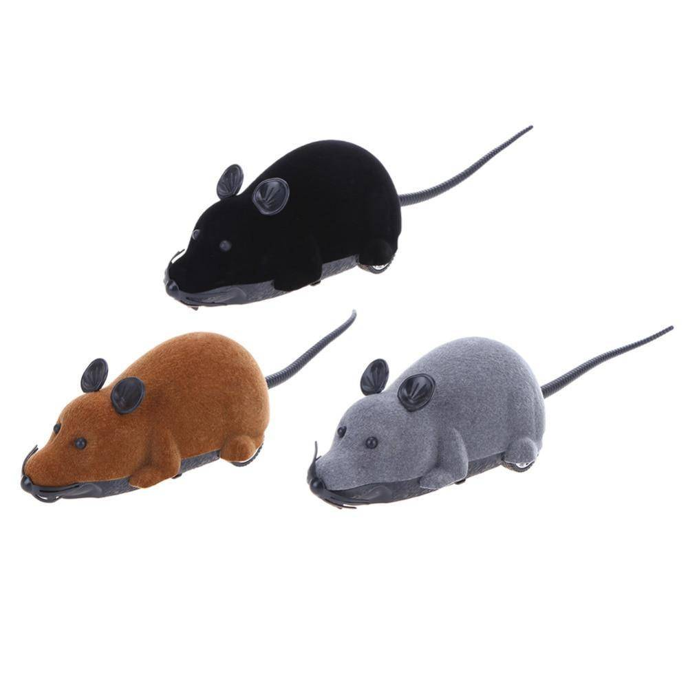 Wireless Mouse Toy  With Remote Control  For Cats