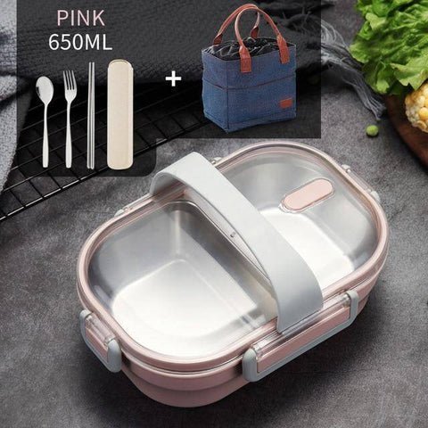 Image of WorthBuy Japanese Portable Lunch Box For Kids School /Food Container Food Box
