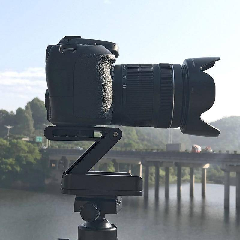 Z Pan  Tilt   Professional Flex Tilt Tripod Head For Camera/phone