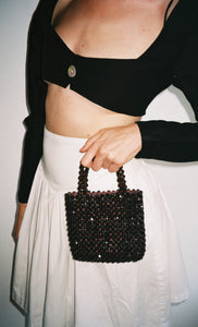 Miniature Beaded Purse