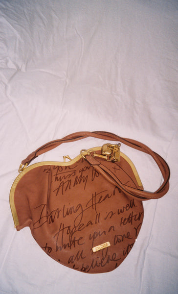 Galliano Heart Bag