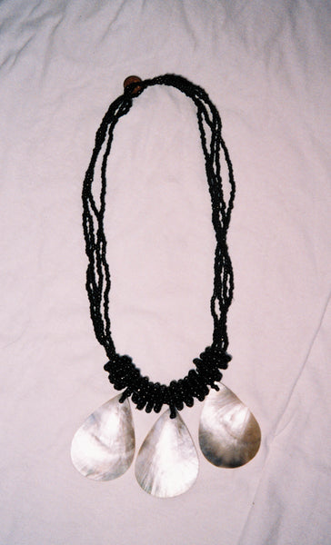 Triple Shell Necklace