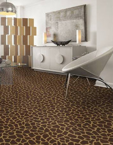 Home Theatre Carpet leopard