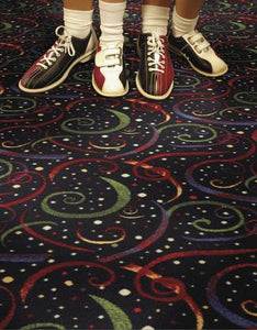 Theatre Carpet - Swirls