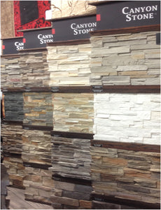 Canyon Stone Canada - Stone veneers, faux stone sidings and natural stone veneer panels