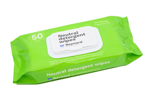 Reynard Neutral Detergent Wipes
