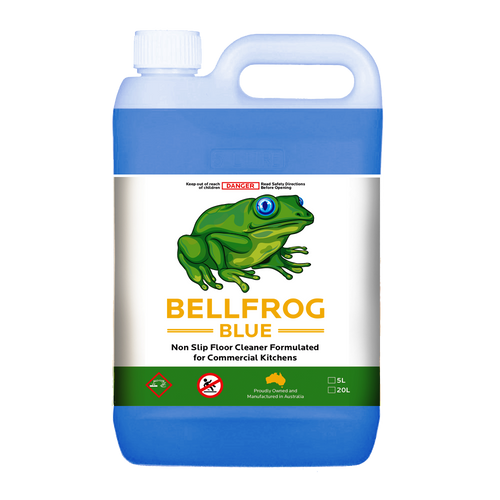 Bellfrog Blue - Non Slip Floor Cleaner