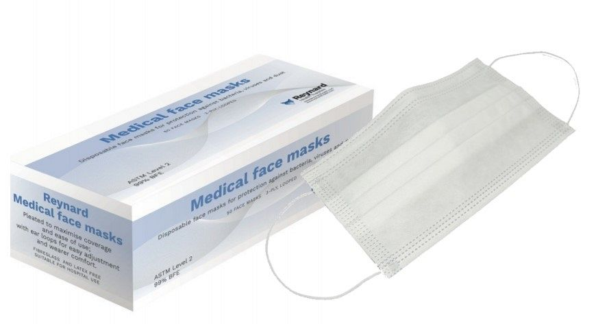 Face Mask Level 2 - Reynard Medical (Blue)