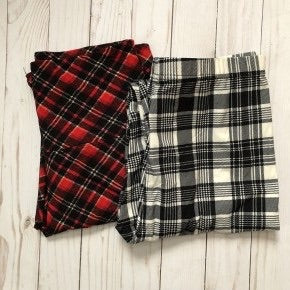 Plaid Butter Soft Leggings
